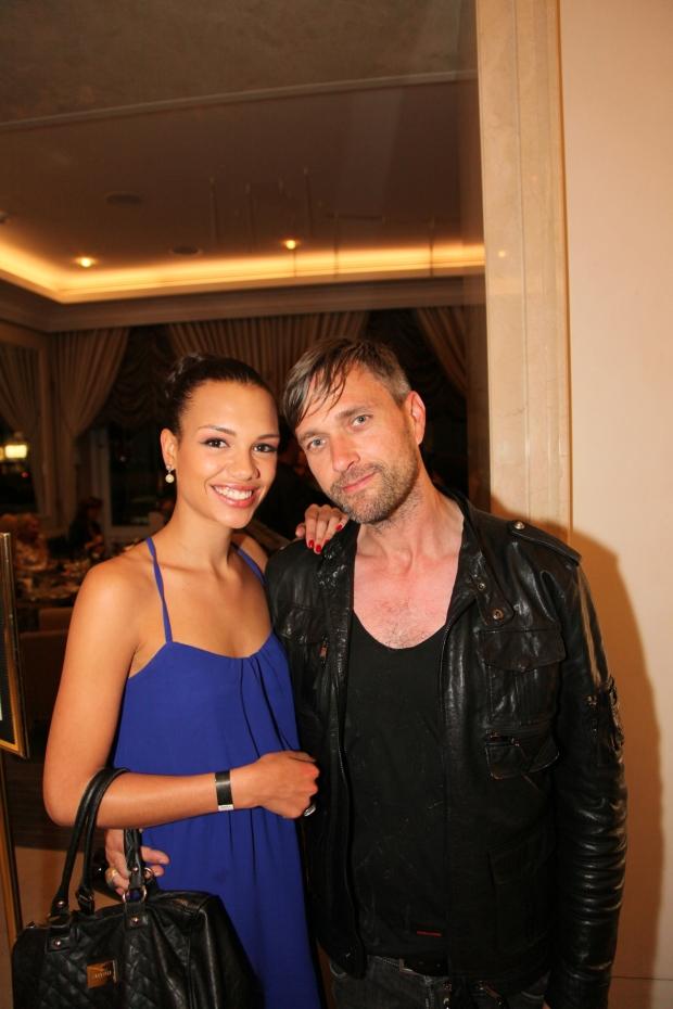 Michael Retrograd mit Dominique Miller von Germanys Next Topmodel