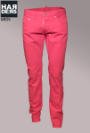 Dsquared-Jeans-Slim-Jean-Coral-Knallfarbe-Neon-Grell-Farbe-Harders-Onlineshop-Onlinestore-Fashion-Designer-Mode-Damen-Herren-Men-Women-Spring-Summer-Frühjahr-Sommer-2013