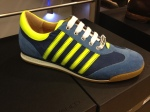 Dsquared-Sneaker-Blau-Gelbe-Streifen