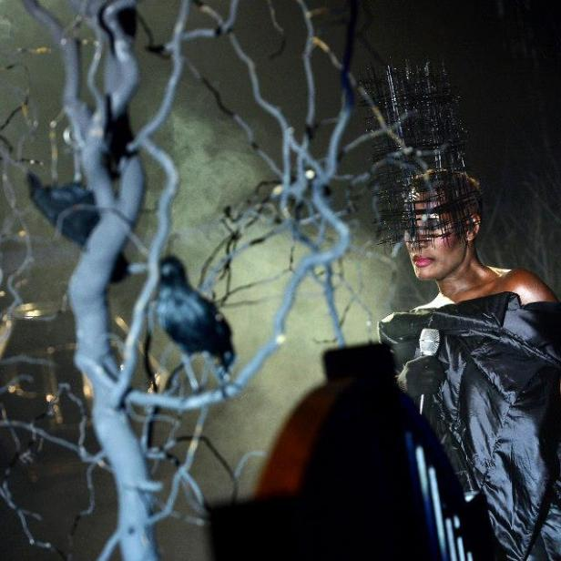 1a-Philipp-Plein-Fashion-Show-Grace-Jones-Fall-Winter-Herbst-Winter-2013-2014-The-fairy-Tale-Forest