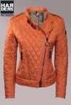 Belstaff-Daune-Kasten-Biker-Jacke-Longston-Blouson-Orange-Reißverschluss-Harders-Onlineshop-Onlinestore-Fashion-Designer-Mode-Damen-Herren-Men-Women-Spring-Summer-Frühjahr-Sommer-2013