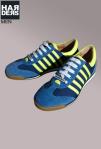 Dsquared-Retro-Sneaker-Blau-Neon-Gelb-Wild-Leder-Born-in-Canada-Made-in-Italy-Dean-Dan-Caten-Harders-Onlineshop-Onlinestore-Fashion-Designer-Mode-Damen-Herren-Men-Women-Spring-Summer-Frühjahr-Sommer-2013