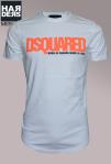 Dsquared-Shirt-Weiß-Schriftzug-Logo-Neon-Orange-Born-in-Canada-Made-in-Italy-Dean-Dan-Caten-Harders-Onlineshop-Onlinestore-Fashion-Designer-Mode-Damen-Herren-Men-Women-Spring-Summer-Frühjahr-Sommer-2013