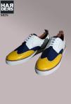 Dsquared-Sneaker-Budapester-Weiß-Blau-Gelb-Lack-Leder-Born-in-Canada-Made-in-Italy-Dean-Dan-Caten-Harders-Onlineshop-Onlinestore-Fashion-Designer-Mode-Damen-Herren-Men-Women-Spring-Summer-Frühjahr-Sommer-2013