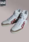 Dsquared-Sneaker-Hi-Top-D2-Weiß-Rot-Born-in-Canada-Made-in-Italy-Dean-Dan-Caten-Harders-Onlineshop-Onlinestore-Fashion-Designer-Mode-Damen-Herren-Men-Women-Spring-Summer-Frühjahr-Sommer-2013