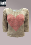 Frogbox-Pullover-Herz-Love-Grobstrick-Oversize-Beige-Rosa-Heart-Baumwolle-Kaschmir-Harders-Onlineshop-Onlinestore-Fashion-Designer-Mode-Damen-Herren-Men-Women-Spring-Summer-Frühjahr-Sommer-2013