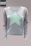 Frogbox-Pullover-Stern-Love-Grobstrick-Oversize-Rose-Pastell-Lila-Star-Weiß-Baumwolle-Kaschmir-Harders-Onlineshop-Onlinestore-Fashion-Designer-Mode-Damen-Herren-Men-Women-Spring-Summer-Frühjahr-Sommer-2013