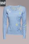 Frogbox-Pullover-Sterne-Herz-Blau-Bleu-Pastell-Gelb-Coral-Rose-Mint-Stars-Heart-Baumwolle-Kaschmir-Harders-Onlineshop-Onlinestore-Fashion-Designer-Mode-Damen-Herren-Men-Women-Spring-Summer-Frühjahr-Sommer-2013