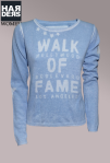 Frogbox-Pullover-Walk-of-fame-hollywood-Boulevard-Los-Angeles-Bleu-weiß-Baumwolle--Kaschmir-Harders-Onlineshop-Onlinestore-Fashion-Designer-Mode-Damen-Herren-Men-Women-Spring-Summer-Frühjahr-Sommer-2013