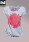 Frogbox-Shirt-Smiley-Gummibund-Oversize-Neon-Pink-Gold-Glitter-Harders-Onlineshop-Onlinestore-Fashion-Designer-Mode-Damen-Herren-Men-Women-Spring-Summer-Frühjahr-Sommer-2013