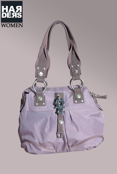 George-Gina-Lucy-Poppy-Blossom-Pastell-Lila-Rosa-Nylon-Haken-Tasche-Bag-Harders-Onlineshop-Onlinestore-Fashion-Designer-Mode-Damen-Herren-Men-Women-Spring-Summer-Frühjahr-Sommer-2013
