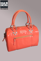 George-Gina-Lucy-Tasche-Bag-Mumble-Jumble-Lack-Leder-Neon-Orange-Harders-Onlineshop-Onlinestore-Fashion-Designer-Mode-Damen-Herren-Men-Women-Spring-Summer-Frühjahr-Sommer-2013