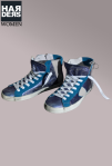 Philippe-Model-Hi-Top-Sneaker-Wild-Glatt-Lack-Leder-Aqua-marine-Metallic-Blau-Reißverschluss-destroyed-Vintage-Harders-Onlineshop-Onlinestore-Fashion-Designer-Mode-Damen-Herren-Men-Women-Spring-Summer-Frühjahr-Sommer-2013