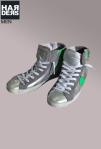 Philippe-Model-Sneaker-Hi-Top-Silber-Neon-Grün-Silver-Green-Vintage-Used-Reißverschluss-Zipper-Harders-Onlineshop-Onlinestore-Fashion-Designer-Mode-Damen-Herren-Men-Women-Spring-Summer-Frühjahr-Sommer-2013