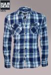 Superdry-Hemd-Shirt-Blau-Grau-Beige-kariert-Vintage-washed-Cotton-Baumwolle-Harders-Onlineshop-Onlinestore-Fashion-Designer-Mode-Damen-Herren-Men-Women-Spring-Summer-Frühjahr-Sommer-2013