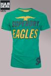 Superdry-Shirt-Grün-Eagles-Green-Front-Print-Vintage-washed-Cotton-Baumwolle-Harders-Onlineshop-Onlinestore-Fashion-Designer-Mode-Damen-Herren-Men-Women-Spring-Summer-Frühjahr-Sommer-2013
