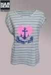 The-hip-Tee-Shirt-Beige-Streifen-Neon-Herz-Heart-Anker-Anchor-Forever-and-ever-Harders-Onlineshop-Onlinestore-Fashion-Designer-Mode-Damen-Herren-Men-Women-Spring-Summer-Frühjahr-Sommer-2013