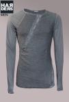 Preach-Shirt-Longsleeve-Vintage-Used-Materialmix-Anthrazit-Knopfleiste-Harders-Onlineshop-Onlinestore-Fashion-Designer-Mode-Damen-Herren-Men-Women-Spring-Summer-Frühjahr-Sommer-2013