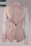 Please-Sweat-Blazer-Knopf-Rosa-Vintage-Baumwolle-Cotton-Sandstrahl-Used-Harders-Onlineshop-Onlinestore-Fashion-Designer-Mode-Damen-Herren-Men-Women-Spring-Summer-Frühjahr-Sommer-2013