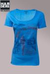 Athletic-Vintage-Shirt-Blau-Road-St.-Tropez-Bikini-girl-Naht-Kanten-Front-Print-Harders-Onlineshop-Onlinestore-Fashion-Designer-Mode-Damen-Herren-Men-Women-Spring-Summer-Frühjahr-Sommer-2013 Kopie