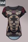 Philipp-Plein-Shirt-Snake-Skull-Totenkopf-Schlange-Swarovski-Flower-Blume-Harders-Online-Shop-Store-Fashion-Designer-Mode-Damen-Herren-Men-Women-Pre-Kollektion-Fall-Winter-Herbst-2013-2014