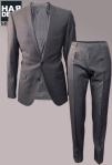 Hugo-Boss-Anzug-Suit-Amaro-Heise-Anthrazit-Grau-Struktur-Harders-Online-Shop-Store-Fashion-Designer-Mode-Damen-Herren-Men-Women-Pre-Kollektion-Fall-Winter-Herbst-2013-2014