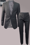 Hugo-Boss-Anzug-Suit-Standard-NOS-Amaro-Heise-Schwarz-Black-Struktur-Harders-Online-Shop-Store-Fashion-Designer-Mode-Damen-Herren-Men-Women-Pre-Kollektion-Fall-Winter-Herbst-2013-2014