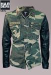 Tigha-Army-Jacke-Connor-Camouflage-Oliv-Leder-Arm-Ärmel-Vintage-Harders-Onlineshop-Onlinestore-Fashion-Designer-Mode-Damen-Herren-Men-Women-Spring-Summer-Frühjahr-Sommer-2013