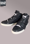 Dsquared-High-Top-Sneaker-Schuhe-Shoes-Leder-Leather-Schnalle-Klett-Verschluss-Harders-Online-Shop-Store-Fashion-Designer-Mode-Damen-Herren-Men-Women-Pre-Kollektion-Fall-Winter-Herbst-2013-2014