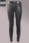 Drykorn-Jeans-Hose-On-2-Slim-Schwarz-Black-Glanz-Metall-Schicht-Stretch-Kaschmir-Harders-Online-Shop-Store-Fashion-Designer-Mode-Damen-Herren-Men-Women-Pre-Kollektion-Fall-Winter-Herbst-2013-2014