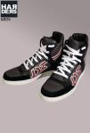 Dsquared-High-Top-Sneaker-D2-Logo-Leder-Schwarz-grau-Rot-Harders-Online-Shop-Store-Fashion-Designer-Mode-Damen-Herren-Men-Women-Jades-Soeren-Volls-Pool-Mientus-Fall-Winter-Herbst-2013-2014