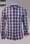 Lucky-de-Luca-Hemd-Shirt-Blau-Rot-Grau-Kariert-Handcrafted-Harders-Online-Shop-Store-Fashion-Designer-Mode-Damen-Herren-Men-Women-Pre-Kollektion-Fall-Winter-Herbst-2013-2014