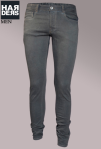 Patrizia-Pepe-Jeans-Slim-Sandstrahl-Grau-Schicht-Optik-destroyed-Vintage-Used-Harders-Online-Shop-Store-Fashion-Designer-Mode-Damen-Herren-Men-Women-Jades-Soeren-Volls-Pool-Mientus-Fall-Winter-Herbst-2013-2014