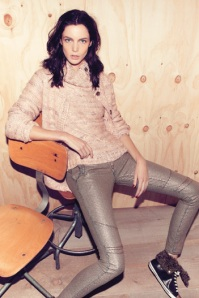 Patrizia-Pepe-Pullover-Gold-Jeans