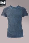 Patrizia-Pepe-Shirt-Blau-Kanten-Sandstrahl-Optik-Vintage-Used-Harders-Online-Shop-Store-Fashion-Designer-Mode-Damen-Herren-Men-Women-Jades-Soeren-Volls-Pool-Mientus-Fall-Winter-Herbst-2013-2014