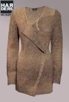 Set-Strick-Jacke-Cardigan-Mohair-Beige-Gold-Metall-Faden-Schnalle-Oversize-Harders-Online-Shop-Store-Fashion-Designer-Mode-Damen-Herren-Men-Women-Jades-Soeren-Volls-Pool-Mientus-Fall-Winter-Herbst-2013-2014