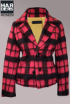 Dsquared-DSQ-Jacke-Schwarz-Rot-Kariert-Alpaca-Wolle-Vintage-Wash-Harders-Online-Shop-Store-Fashion-Designer-Mode-Damen-Herren-Men-Women-Jades-Soeren-Volls-Pool-Mientus-Fall-Winter-Herbst-2013-2014