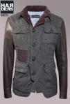 Dsquared-Jacke-Wolle-Leder-Arm-Glanz-Grau-Braun-Cord-Kragen-Harders-Online-Shop-Store-Fashion-Designer-Mode-Damen-Herren-Men-Women-Jades-Soeren-Volls-Pool-Mientus-Fall-Winter-Herbst-2013-2014