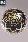 Noosa-Chunk-Niete-Stud-Flower-of-life-Black-Gold-CRM-186-Metal-Harders-Online-Shop-Store-Fashion-Designer-Mode-Damen-Herren-Men-Women-Jades-Soeren-Volls-Pool-Mientus-Fall-Winter-Herbst-2013-2014