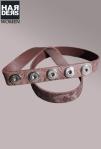 Noosa-Gürtel-Chocolate-Braun-BCS-202-18-Leder-Nieten-Studs-Grafik-Harders-Online-Shop-Store-Fashion-Designer-Mode-Damen-Herren-Men-Women-Jades-Soeren-Volls-Pool-Mientus-Fall-Winter-Herbst-2013-2014