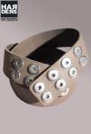 Noosa-Gürtel-Grey-Grau-BCW-001-04-Leder-Nieten-Studs-Harders-Online-Shop-Store-Fashion-Designer-Mode-Damen-Herren-Men-Women-Jades-Soeren-Volls-Pool-Mientus-Fall-Winter-Herbst-2013-2014