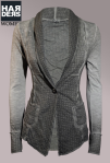 Please-Sweat-Blazer-V657CQ1E6-Mud-Karo-Vintage-Wash-Harders-Online-Shop-Store-Fashion-Designer-Mode-Damen-Herren-Men-Women-Jades-Soeren-Volls-Pool-Mientus-Fall-Winter-Herbst-2013-2014