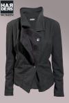 Preach-Jacke-Blazer-Elisabeth-schwarz-asymmetrisch-Kragen-Vintage-Harders-Online-Shop-Store-Fashion-Designer-Mode-Damen-Herren-Men-Women-Jades-Soeren-Volls-Pool-Mientus-Fall-Winter-Herbst-2013-2014
