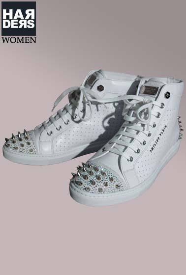 Philipp-Plein-Sneaker-Schuhe-Swarovski-Studs-Nieten-Harders-Online ... d574338c89