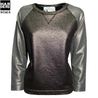Harders24-8PM-Oversize-Sweat-Shirt-Noemi-Metal-Bronze-Platin-42M55-Vintage-Harders-Online-Shop-Store-Fashion-Designer-Mode-Damen-Herren-Men-Women-Fall-Herbst-Winter-Spring-Summer-Frühjahr-Sommer-2014-2015