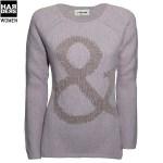 Rich-and-Royal-Strick-Pullover-&-Zeichen-Rosa-43q143-Harders-24-Online-Shop-Store-Fashion-Designer-Mode-Damen-Herren-Men-Women-Fall-Herbst-Winter-Spring-Summer-Frühjahr-Sommer-2014-2015