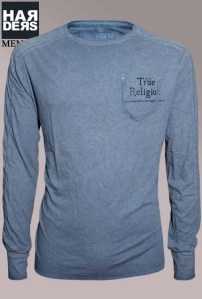True-Religion-Longsleeve-Shirt-Old-Indian-China-Blue-vintage-wash-Harders-Online-Shop-Store-Fashion-Designer-Mode-Damen-Herren-Men-Women-Fall-Herbst-Winter-Spring-Summer-Frühjahr-Sommer-2014-2015