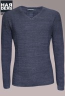 Hannes-Roether-Pullover-Arigi-45148-Blau-Schwarz-Harders-24-Online-Shop-Store-Fashion-Designer-Mode-Damen-Herren-Men-Women-Fall-Herbst-Winter-2014