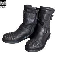 Matchless-Icon-Lady-Boot-Stiefel-Leder-Niete-Stud-142001-9017-Antique-Antik-Black-Schwarz-Harders-24-Online-Shop-Store-Fashion-Designer-Mode-Damen-Herren-Men-Women-Fall-Herbst-Winter-2014