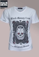 Black-Money-Crew-Shirt-Original-White-Skull-Dollar-Art-Vintage-Wash-Harders-24-Online-Shop-Store-Fashion-Designer-Mode-Damen-Herren-Men-Women-Fall-Herbst-Winter-2014